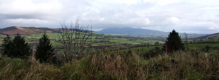 View from Ballyhoura